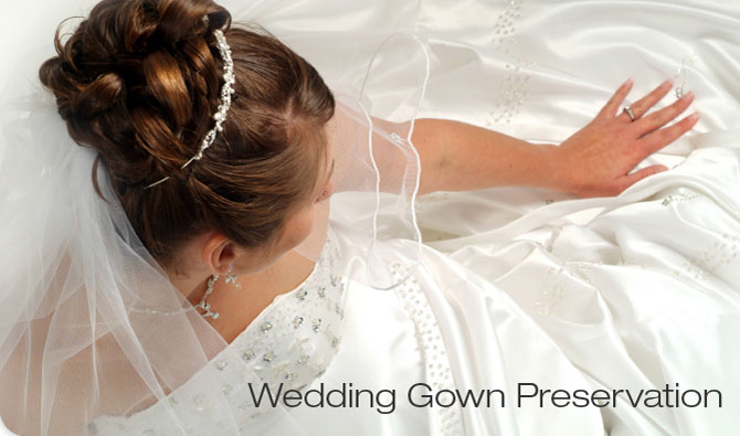 Wedding gown preservation oakbrook cleaners for Wedding dress cleaning and preservation